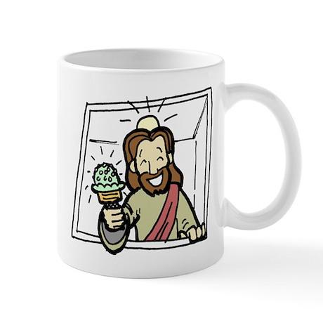 Jesus Ice Cream Truck Mug