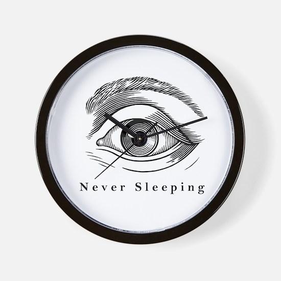 Never Sleeping Wall Clock