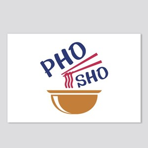 Pho Sho Postcards (Package of 8)