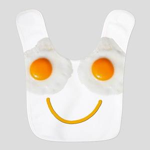 Mr. Egg Face Polyester Baby Bib