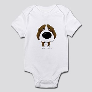 Big Nose Beagle Infant Bodysuit