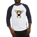 Big Nose Corgi Baseball Jersey