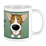 Big Nose Corgi Dad Mug