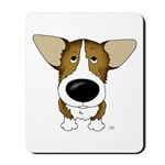 Big Nose Corgi Mousepad