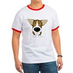 Big Nose Corgi Ringer T