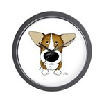 Big Nose Corgi Wall Clock