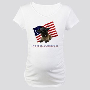 Cairn Terrier American Maternity T-Shirt