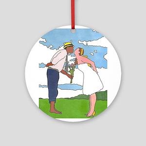 In Love 2 Ornament (Round)
