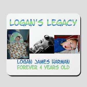 Logan's Legacy Mousepad