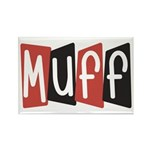Muff Rectangle Magnet (100 pack)