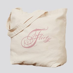 Flirty Girl Tote Bag