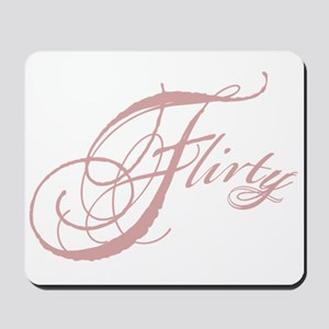 Flirty Girl Mousepad