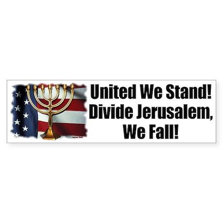 United We Stand! Bumper Sticker