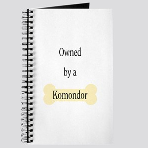 Owned by a Komondor Journal