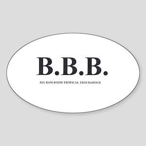 B3 ISLAND Sticker