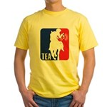 Tea Party Logo Yellow T-Shirt