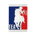 Tea Party Logo Rectangle Magnet (10 pack)