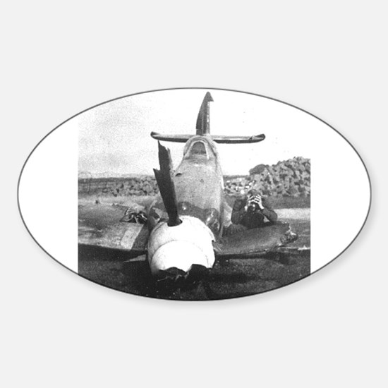 LIVED TO FIGHT ANOTHER DAY! Oval Decal