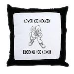 Ska Core Throw Pillow