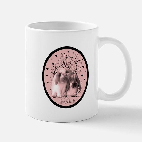 Cute Lop eared rabbit Mug