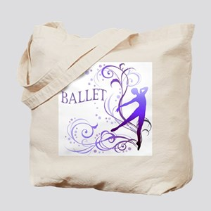 Ballet - scroll Tote Bag