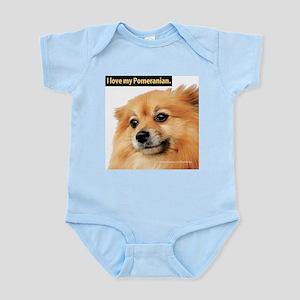 Pomeranian Infant Creeper