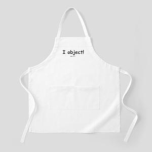 I object! -  BBQ Apron