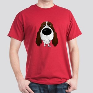 Big Nose Springer Spaniel Dark T-Shirt