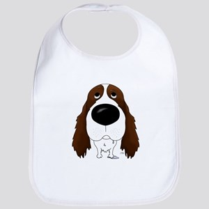 Big Nose Springer Spaniel Bib