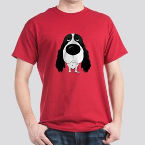 Big Nose Springer Spaniel Dark T-Shirt