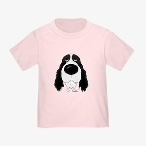 Big Nose Springer Spaniel Toddler T-Shirt
