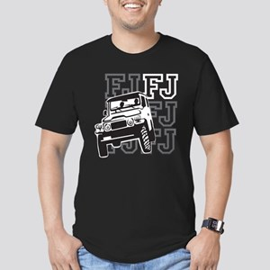 FJ Cruising Men's Fitted T-Shirt (dark)