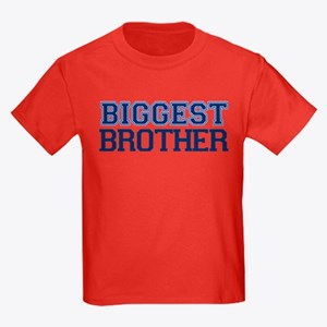 biggest brother t-shirt varsity Kids Dark T-Shirt