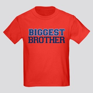 biggest brother t-shirt varsity Kids Dark T-Shirt