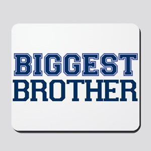 biggest brother t-shirt varsity Mousepad