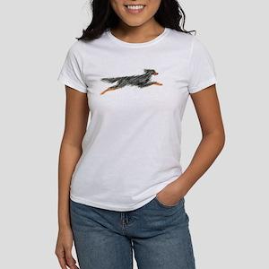 Leaping Gordon Setter Women's T-Shirt