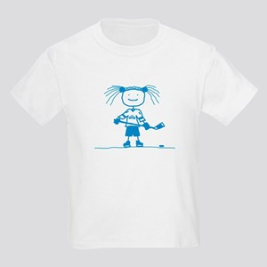 Ice Princess (blue) Kids Light T-Shirt