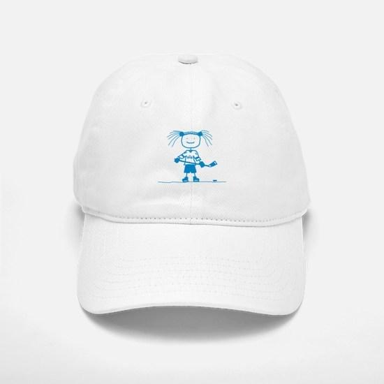 Ice Princess (blue) Baseball Baseball Cap