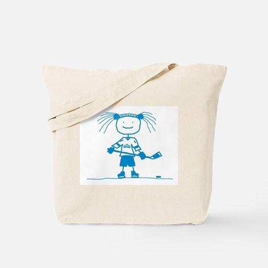 Ice Princess (blue) Tote Bag
