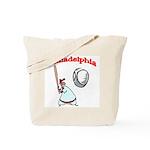 Philadelphia Baseball Tote Bag