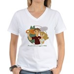 Proud to be... Women's V-Neck T-Shirt
