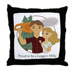 Proud to be... Throw Pillow