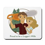 Proud to be... Mousepad