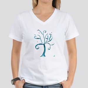 Birds of a Feather Women's V-Neck T-Shirt
