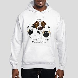 Aussie - I Herd... Hooded Sweatshirt
