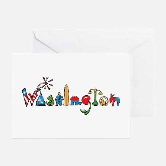 Washington, D.C. Greeting Cards (Pk of 10)