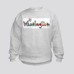 Washington, D.C. Kids Sweatshirt