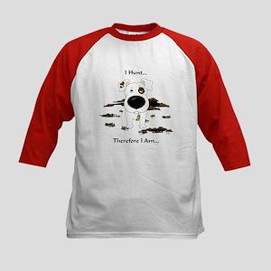 Jack Russell Terrier - I Hunt. Kids Baseball Jerse