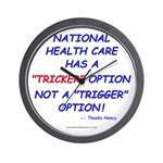 Health Care Trick Wall Clock