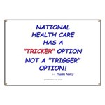 Health Care Trick Banner